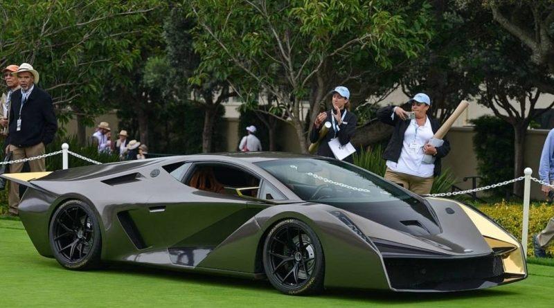 Бывший дизайнер Мазды построил необычный суперкар на базе Lamborghini