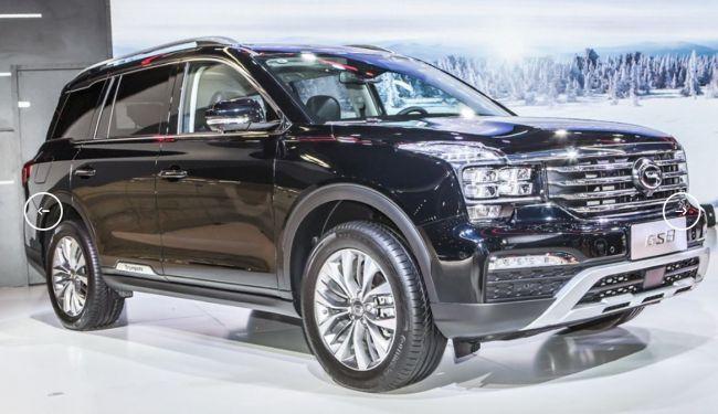 Компания GAC намерена покорить РФ с полноприводным SUV на базе FCA