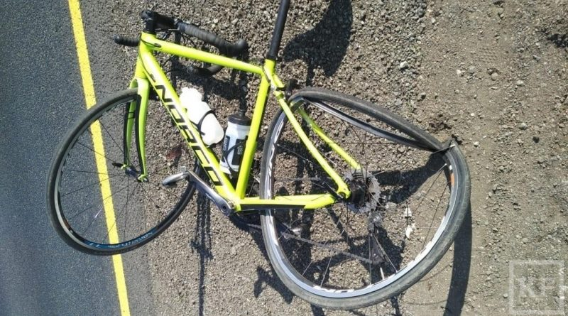 В Татарстане сотрудник МВД сбил велосипедиста