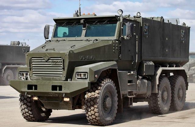 """Инженеры компании """"Урал"""" подготовили компактный бронированный грузовик"""