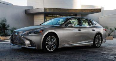 Lexus LS 500 2017-2018 в новом кузове комплектации, цены, фото, технические характеристики и видео тест драйв