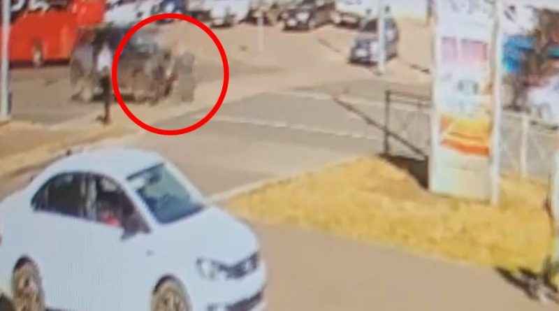 Появилось видео наезда на проспекте Ибрагимова, где насмерть сбили 10-летнюю школьницу