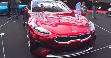 Тестирование обновленного спорткара Kia ProCeed попало в Сеть