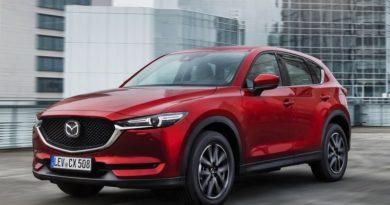 Кроссоверу Mazda CX-5 добавят 2,5-литровый турбомотор