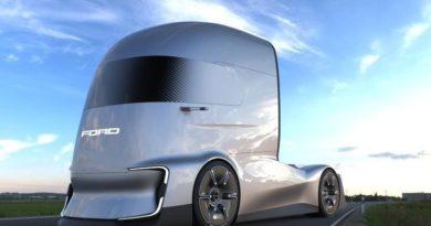 Ford представил свой первый концептуальный тягач — футуристичный F-Vision