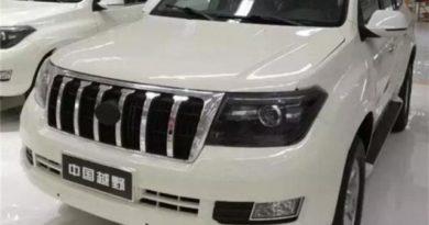 К старту продаж готовится китайская копия Toyota Land Cruiser 200