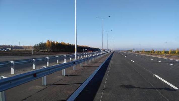 В Татарстане отремонтировали еще часть трассы М7