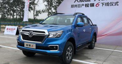 В Китае началось производство построенного на базе Nissan Navara пикапа Dongfeng