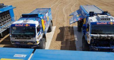 По пересохшим каналам к Туркменскому озеру. Экипаж Айрата Мардеева выигрывает третий этап ралли «Амуль-Хазар 2018».