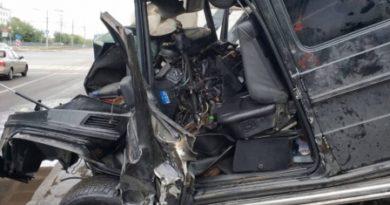 «Угонщиком» Gelandewagen, погибшим в ДТП с мостом в Казани, оказался сирота из Осиново