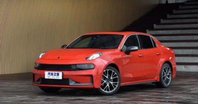 """Бренд Lynk & Co представил новый седан, получивший название """"03"""""""