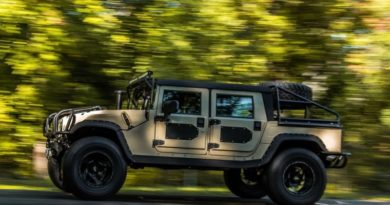 Рестомод на базе Hummer H1: 6,6-литровый дизель развивает почти 1400 Нм крутящего момента