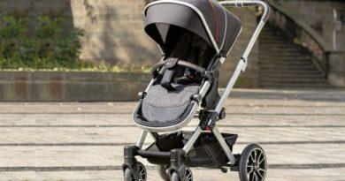 Mercedes-Benz выпустил новый аксессуар - стильную детскую коляску