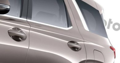 Показаны изображения возможного Hyundai Palisade