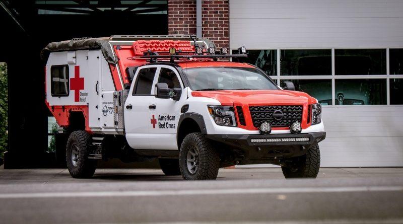 Nissan Titan превратили в красивую спасательную машину