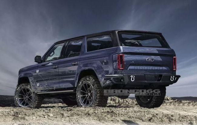 Новый Ford Bronco оборудуют 7-скоростной МКПП