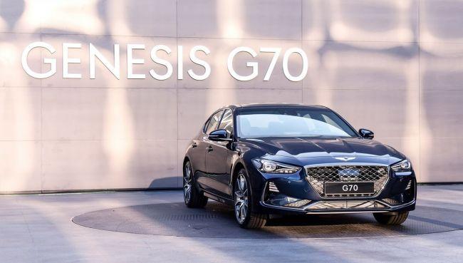 Представлен обновленный седан Genesis G70
