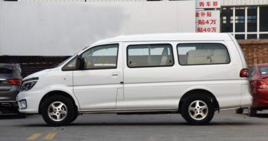 DongFeng модернизировал электрическую версию старой Mitsubishi Delica