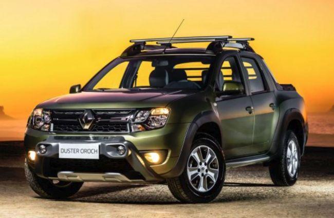 Пикап Renault Duster Oroch пришелся по душе россиянам