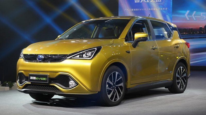 Mitsubishi Motors выпустила электрический кроссовер для Китая