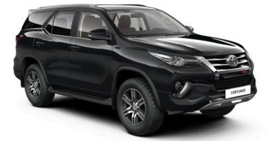 В РФ теперь можно заказать Toyota Fortuner TRD