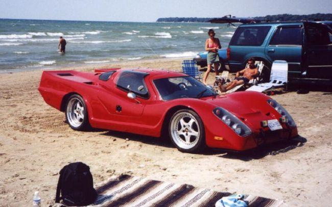 Стеклопластиковые автомобили Laser