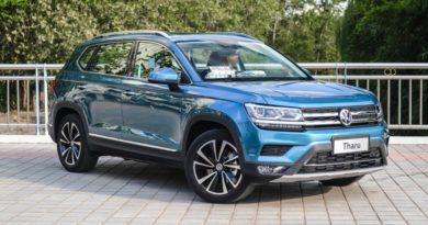 В Китае началось производство кроссовера Volkswagen Tharu. Его будут выпускать и в России