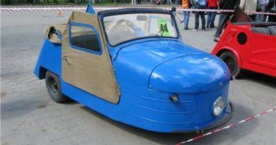 Необычное транспортное средство продает житель Ростова-на-Дону