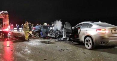 Ну пути в Боровое Матюшино столкнулись BMW X6, Chevrolet и «Лада». Есть жертвы