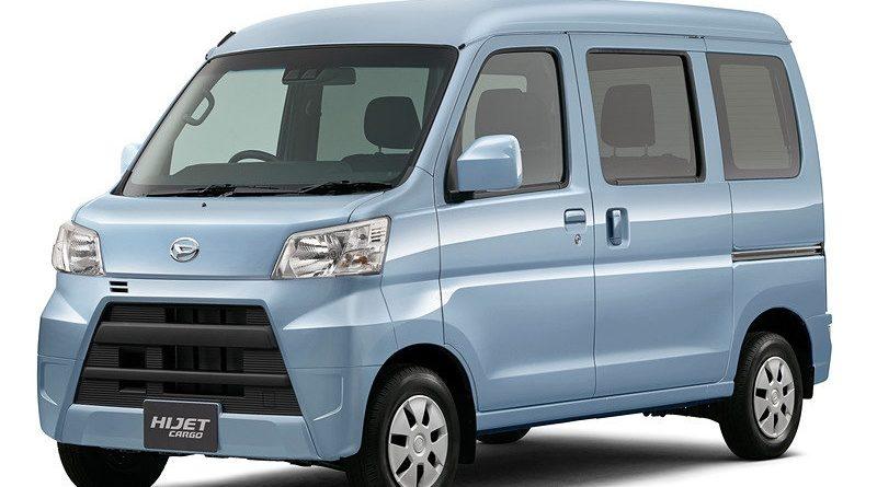 Daihatsu Hijet и Toyota Pixis Van получили комплекс превентивной безопасности