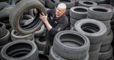 Nokian будет собирать по России отработанные шины