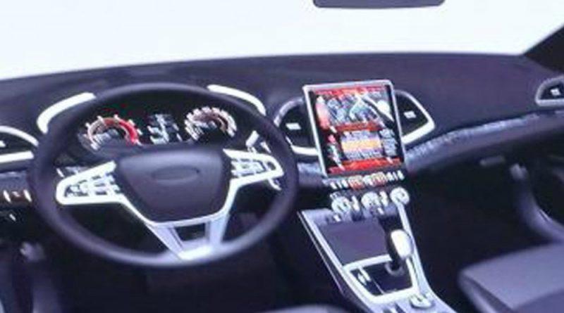 В свободный доступ попал эскиз салона обновленной Lada Vesta
