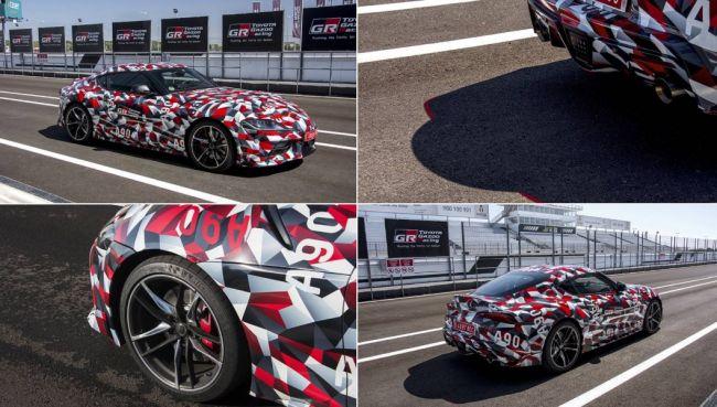 Toyota Supra 2020 случайно обнародована в официальном твите