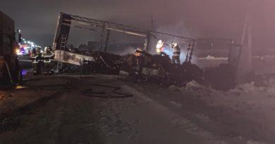 В МВД назвали виновника огненного ДТП с грузовиками под Казанью
