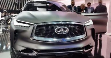 Infiniti представит QX Inspiration на автосалоне в Детройте