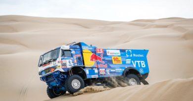 Дакар-2019: Эдуард Николаев первый на этапе Лима-Писко