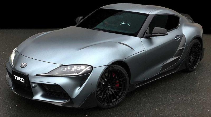 Toyota Supra получила улучшенный аэродинамический обвес от TRD