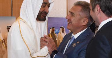Рустам Минниханов встретился с наследным принцем эмирата Абу-Даби