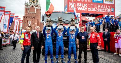 Команда «КАМАЗ-мастер» выставит на ралли «Шелковый путь-2019» четыре экипажа