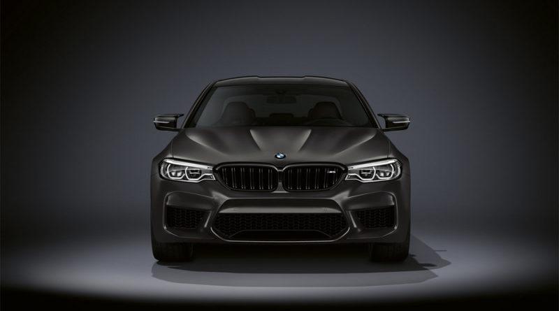 BMW представила грозную спецверсию седана M5 Edition 35 Years