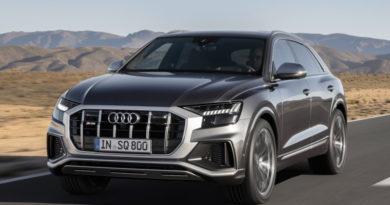 Audi SQ8 стал новым кроссоверным флагманом марки
