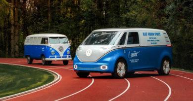 Volkswagen покрасил концептуальный фургон в цвета Nike