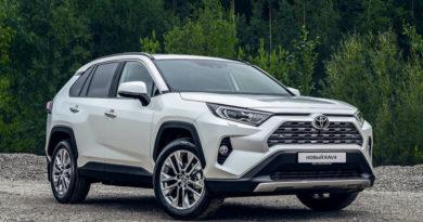 В России начались продажи новой Toyota RAV4