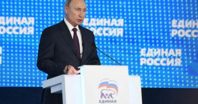 Владимир Путин: «Репутацию, облик партии определяют люди, у которых есть своя, внутренняя позиция»