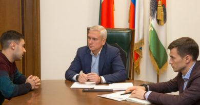 Денис Калинкин провел в Исполкоме Казани прием граждан