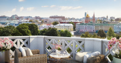 The Residences at Mandarin Oriental, Moscow: история, случившаяся впервые