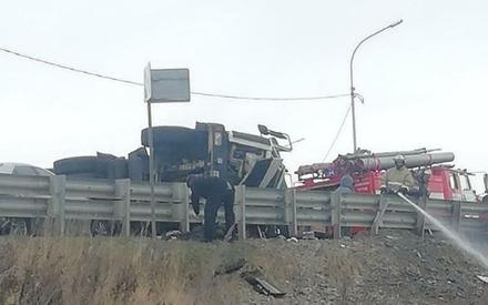 «Водитель был в крови»: в РТ грузовик влетел в легковушку. Есть погибший