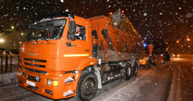 235 единиц спецтехники выйдут на уборку казанских улиц от снега