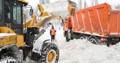 С улиц Казани за минувшие сутки вывезли 7,8 тыс. тонн снега