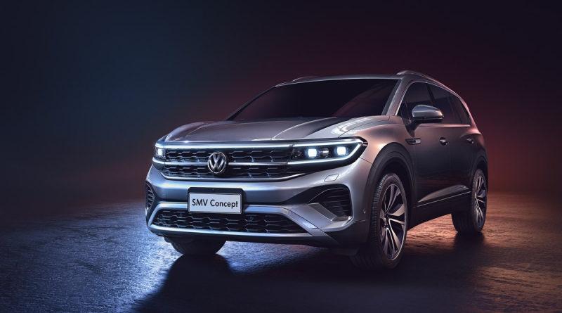 Новый 5-метровый внедорожник от Volkswagen готовится к продажам: «шпионские» фото модели уже в сети
